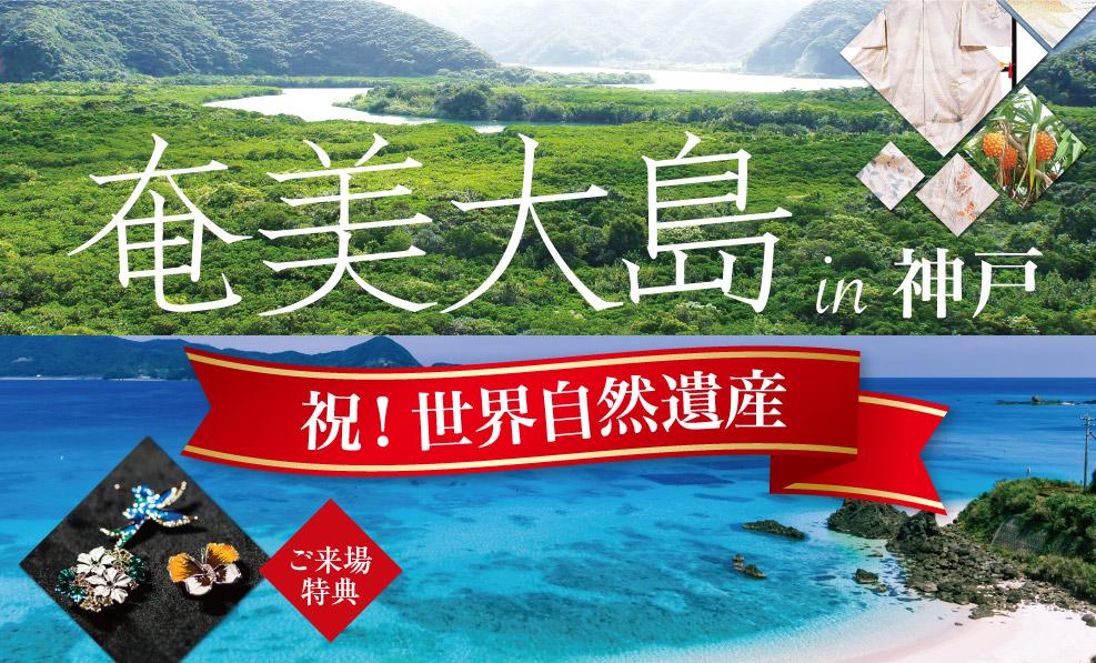 日本和装 祝!世界自然遺産 奄美大島in神戸